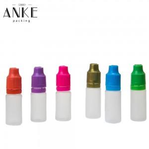 Bočice od 10 ml TPD2 PE sa zaštitnim poklopcem za zaštitu od djece