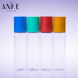 60ml jednorožec CG s plochým víčkem AKTUALIZOVANÉ čiré PET lahve s odnímatelnými špičkami a víčky odolnými proti neoprávněné manipulaci