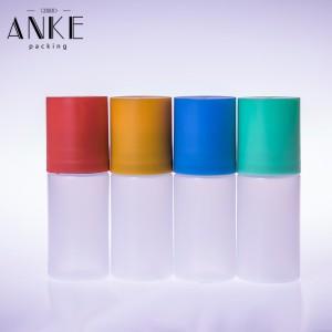 30ml jednorožec CG s plochým víčkem AKTUALIZOVANÉ čiré PE lahve s odnímatelnými špičkami a dětskými víčky odolnými proti neoprávněné manipulaci