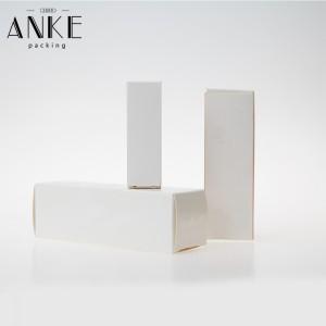 OEM Single Blank Paper Box ho an'ny tavoahangy misy ranoka